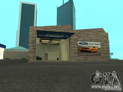 Ford Auto Show para GTA San Andreas segunda pantalla