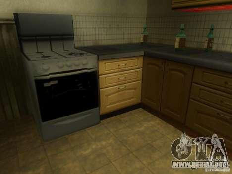 Nueva casa CJ para GTA San Andreas sexta pantalla