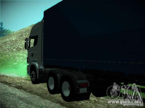 Scania R440 para visión interna GTA San Andreas