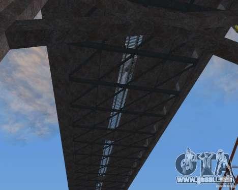 Nuevas texturas de tres puentes en SF para GTA San Andreas sucesivamente de pantalla
