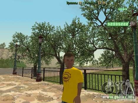 Pupila pequeña para GTA San Andreas tercera pantalla