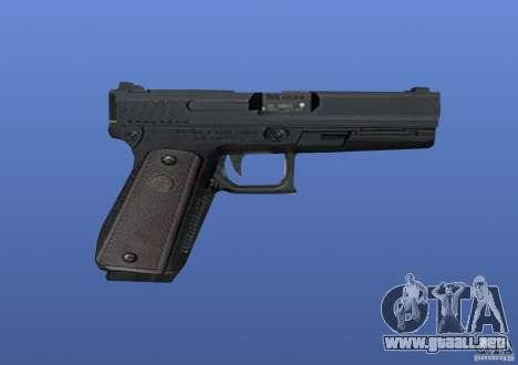 Glock para GTA 4 adelante de pantalla