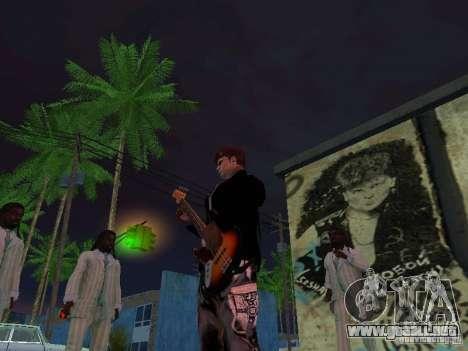 Pared rememorativa George Hoey para GTA San Andreas sucesivamente de pantalla