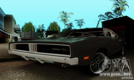 Dodge Charger RT para la vista superior GTA San Andreas