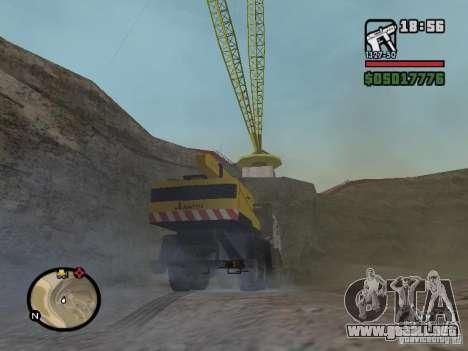 Kamaz UDS para la visión correcta GTA San Andreas