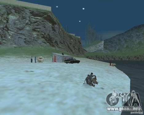 La animada playa de Palomino Creek para GTA San Andreas