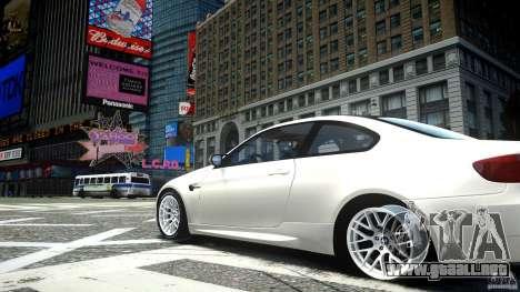 BMW M3 GT-S para GTA 4 vista hacia atrás
