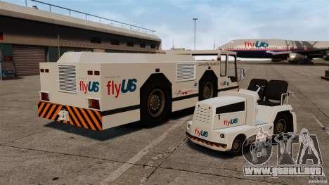FlyUS Tugs Pack para GTA 4 visión correcta