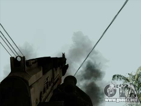 M240B para GTA San Andreas quinta pantalla