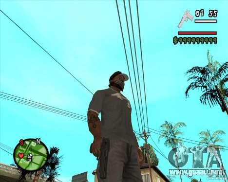 Desert Eagle HD para GTA San Andreas segunda pantalla