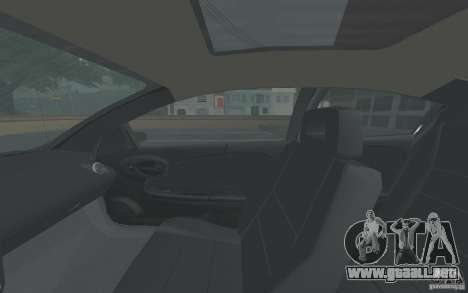 Saturn Ion Quad Coupe para la vista superior GTA San Andreas