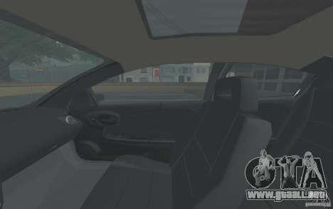 Saturn Ion Quad Coupe para la vista superior GTA San Andreas
