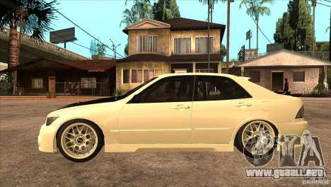 Toyota Altezza RS200 JDM Style para GTA San Andreas left