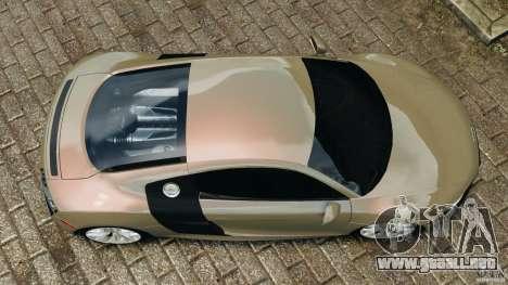Audi R8 V10 2010 para GTA 4 visión correcta