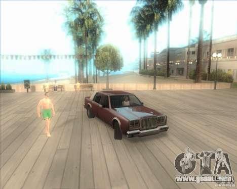 Mi configuración ENBSeries HD para GTA San Andreas