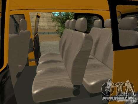Mercedes-Benz Vito 2003 para la visión correcta GTA San Andreas