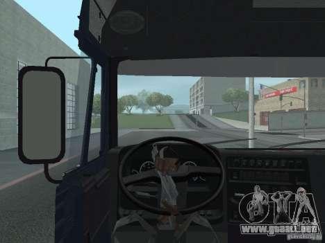 Tablero de instrumentos activos v.3.0 para GTA San Andreas séptima pantalla