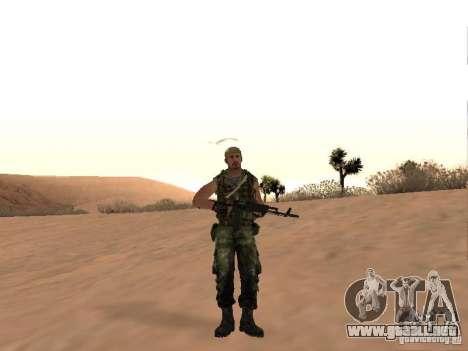 Comando ruso para GTA San Andreas segunda pantalla
