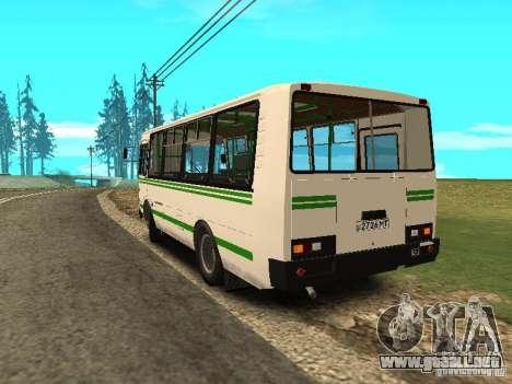 SURCO 32053 para GTA San Andreas vista posterior izquierda