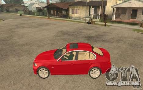 BMW 330i E90 v.2.0 para GTA San Andreas left