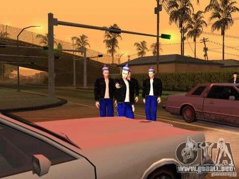 Gopnik pieles para GTA San Andreas tercera pantalla