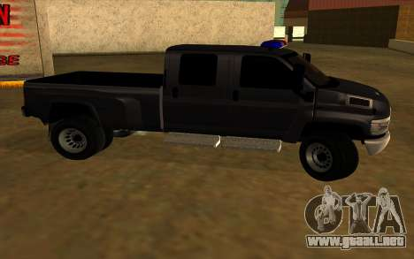 GMC Topkick C4500 para GTA San Andreas vista hacia atrás