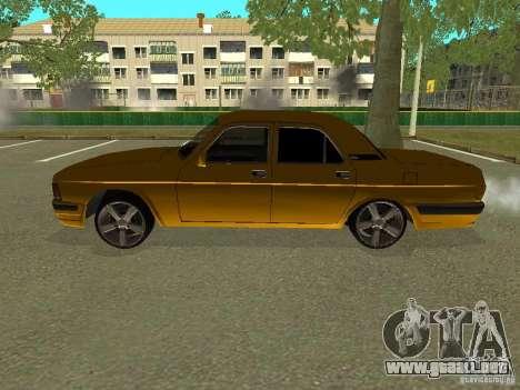 Volga GAZ 3102 para GTA San Andreas left
