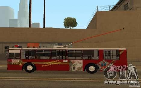 ZiU 682 para GTA San Andreas left