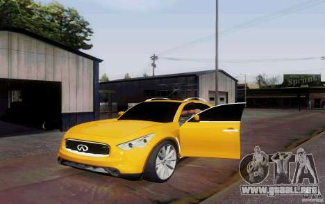 Alarme Mod v4.5 para GTA San Andreas segunda pantalla