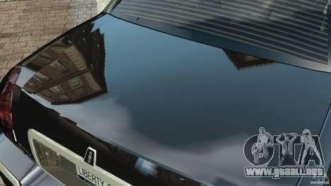 Lincoln Town Car Limousine 2006 para GTA 4 ruedas