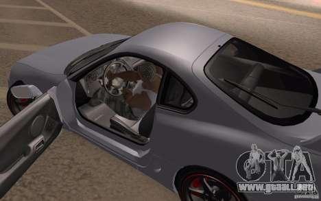 Toyota Supra Mark IV para GTA San Andreas vista hacia atrás