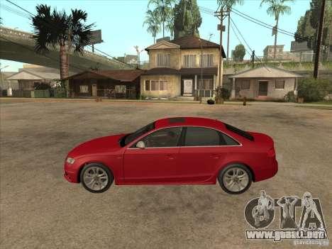 Audi S4 2010 para GTA San Andreas left