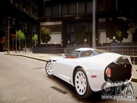 Alfa Romeo TZ3 Stradale Zagato para GTA 4 Vista posterior izquierda
