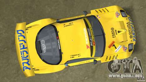 Mazda Re-Amemiya RX7 FD3S Super GT para GTA Vice City vista posterior
