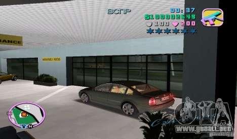 Volkswagen Passat B5+ W8 para GTA Vice City left