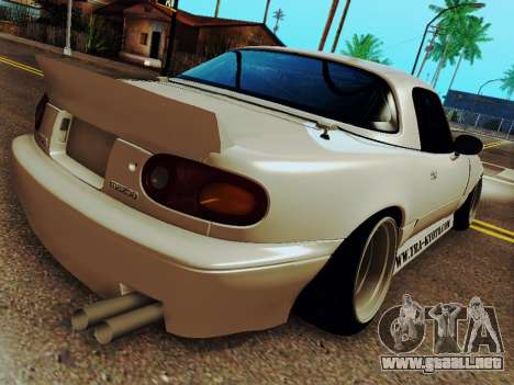 Mazda MX-5 Miata Rocket Bunny para GTA San Andreas left