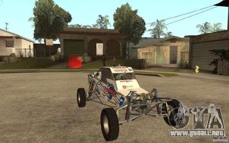 CORR Super Buggy 2 (Hawley) para GTA San Andreas vista hacia atrás