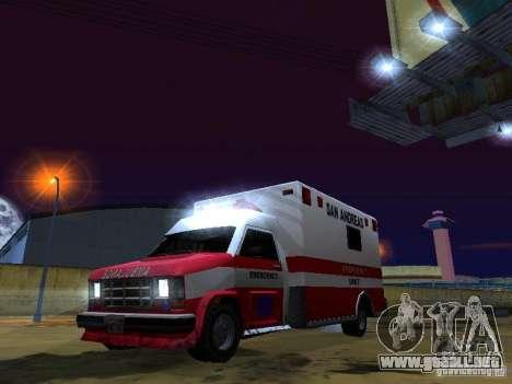 Ambulance 1987 San Andreas para GTA San Andreas