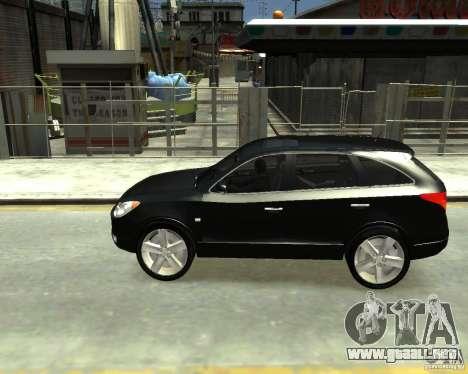 Hyundai IX55 para GTA 4 Vista posterior izquierda