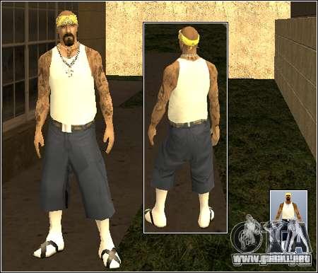 Piel Pack Getto para GTA San Andreas sucesivamente de pantalla