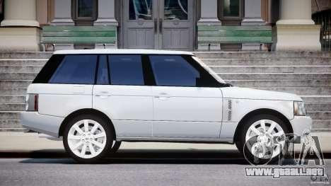 Range Rover Supercharged 2009 v2.0 para GTA 4 vista interior