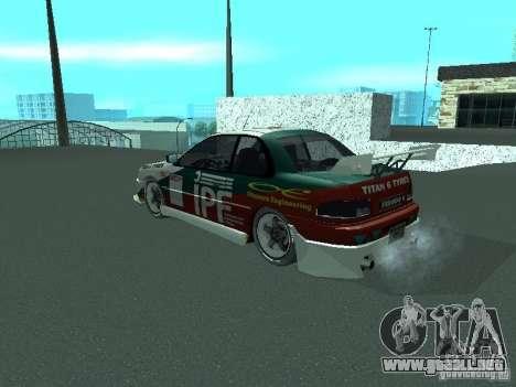 Subaru Impreza para el motor de GTA San Andreas