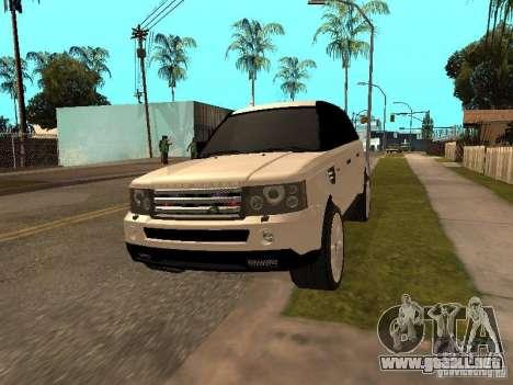 Range Rover Sport para GTA San Andreas