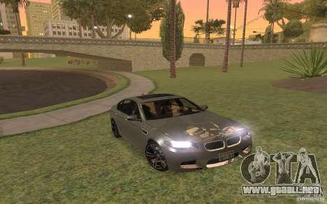 BMW M5 para la vista superior GTA San Andreas