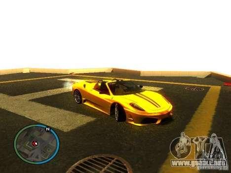 Ferrari F430 Scuderia M16 2008 para las ruedas de GTA San Andreas