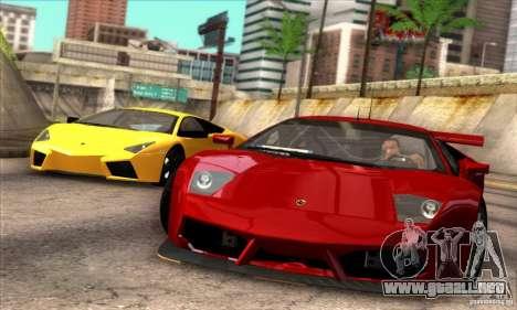 Lamborghini Murcielago R-SV GT1 para la visión correcta GTA San Andreas