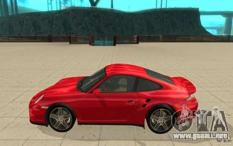Porsche 911 (997) Turbo v3.0 para GTA San Andreas left