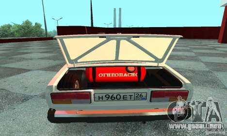 VAZ 2107 v. 3 para la visión correcta GTA San Andreas