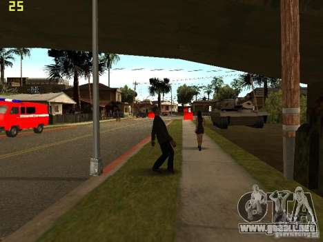 Drunk People Mod para GTA San Andreas tercera pantalla