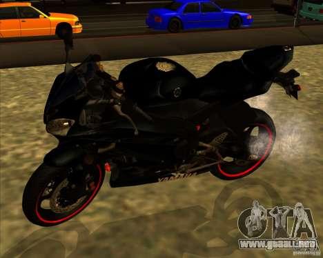 Yamaha YFZ R6 para GTA San Andreas